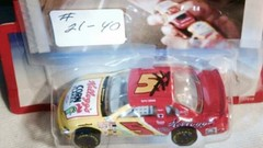 #21-40, NASCAR, Terry Labonte, Signing, #21-40, Hot Wheels, 1996, #5, Kellogg's, 64th scale, die cast, loose (Picture Proof Autographs) Tags: 2140 nascar terrylabonte signing hotwheels 1996 5 kelloggs 64thscalediecast loosesppp3driverisinsamesponsoreddriversuniformshirtinphoto with pictureproofphoto ppp