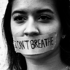 I Can't Breathe (minus6 (tuan)) Tags: mts minus6 icantbreathe protest gagged woman black