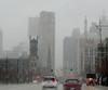 Woodward Avenue, Detroit (Dan_DC) Tags: detroit haze clouds fog weather downtown buildings woodwardavenue co2 carbondioxide pollutant greenhousegases