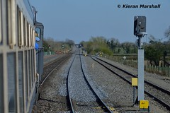 Portarlington, 8/4/17 (hurricanemk1c) Tags: rpsi marbletribesman 1335galwaykilkenny railways railway train trains irish rail irishrail iarnród éireann iarnródéireann 2017 generalmotors gm emd 071 081 portarlington