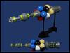 Longhaul Cargo Carrier (Karf Oohlu) Tags: lego moc microwscale microspacetopia cargoship scifi
