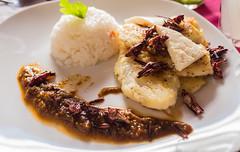 Oaxaca Fish and crickets