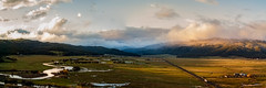 New Meadows at Sunset (Rustic Lens Photography) Tags: sunset ariel dji drone idaho mavicpro newmeadows river unitedstates mavic pro new meadows mountain nature landscape scenics outdoors meadow summer range cloud sky hill peak beauty in grass valley green color rural scene travel