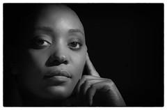 Jemima1 (Chris Connorton) Tags: coloured black beautiful nubian queen sexy white mono