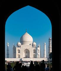 The last door before The Taj Mahal  DSC05414 (mariomath) Tags: india inde taj mahal agramoghol mumtaz yamuna makrana merveille akbar shah jahan voyagearabais tajmahal 7merveillesdumonde mumtazmahal shahjahan