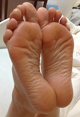 IMG_0404ed2 (thermosome) Tags: foot feet mature soles wrinkled milf