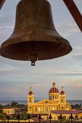 View of Catedral De Granada Nicaragua (Johanna Barton) Tags: lowlight nicaragua city urban landscape church bell granada