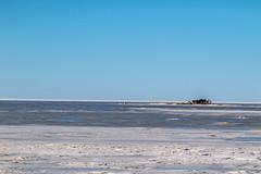 Cabin by the sea (ArtDvU) Tags: cabin icy frozen baltic sea bothnian bay kalajoki northern ostrobothnia finland march spring clear sky sunny day canon eos 7d mkii 24105 landscape seaside