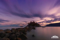 Whytecliff Park Sunset (AZ Design Photography) Tags: whytecliff north vancouver rocks ocean pacificocean pacificnorthwest pacific coast long exposure