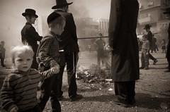 smoke (amira_a) Tags: kid smoke fire street candid ricohgr passover pasqua pesach chametz burning jewish orthodox