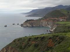 Bixby bridge (xtinab0s) Tags: california coast ocean nature landscape usa outdoors sea coastline bigsur bixbybridge bridge californiadreaming