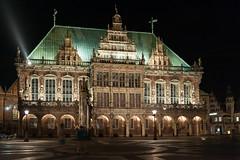 Bremen - Rathaus (snoopsmaus) Tags: bremen deutschland germany hanseatic architecture city night nightphotography