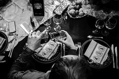 Préparations vitales (www.danbouteiller.com) Tags: france french français table people hands mains hand main alcohol drink party fête ricoh ricohgr ricohgr2 ricohgrii gr gr2 grii mono monochrome monochromatic black white noir blanc nb bw noiretblanc noirblanc blackandwhite blackwhite blacknwhite head tête crane inside intérieur easter paques