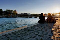 Pont des arts (Guillaume_BRIAND) Tags: nikon d7100 1424 paris seine quai pont des arts paysage