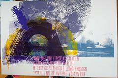 NASA Space Print (smartwentcrazy) Tags: antiproductcom antiart screenprint silkscreen nasa moffet moon spaceshutttle challenger hangarone ames siliconvalley poster