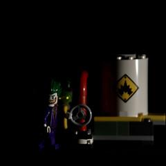 Lego Joker Minifigure (DoctorPitt) Tags: dccomics joker batman lego serbatoio esplosivo minifigures
