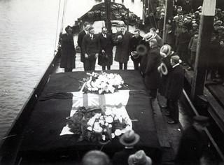 Eierlandse gronden - Stranding Oakford - 17 januari 1934