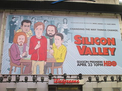 Silicon Valley HBO Show Billboard Times Square NYC 4651 (Brechtbug) Tags: silicon valley hbo show bus billboard springtime new york 2017 april 04202017 taxi cab sunny 42nd street 7th ave number one times square nyc pedestrians avenue st commuting shows billboards graphic novel artist daniel clowes illustration looks great art technology fueling station electricity power cartoon caricature cartoons