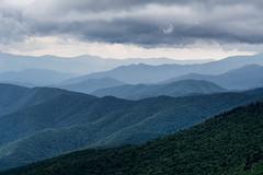 Appalachian afternoon (Thankful!) Tags: storm mountains clouds mist rain hills distance layers ridges landscape appalachian
