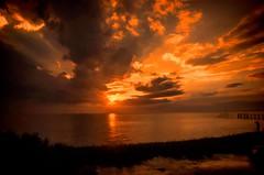 Apalachicola Bay Sunset (BobHartmannPhotography) Tags: bobhartmannphototography hartmann landscape tallahassee nationalparksandreserves l flowersplants wildlife everglades bobhartmanncom 1365 stmarksnationalwildliferefuge 365 florida