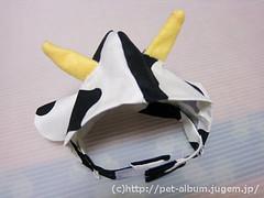 ペット服(牛コスプレ)の写真40