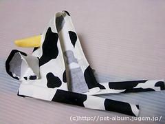 ペット服(牛コスプレ)の写真36
