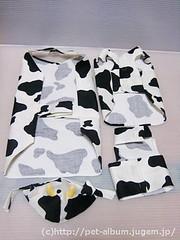 ペット服(牛コスプレ)の写真30