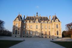 Startplaats : kasteel van Sceaux